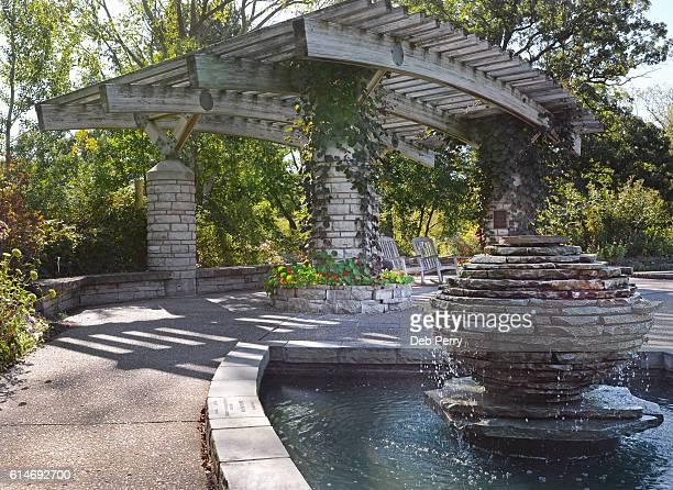 matthaei botanical gardens and nichols arboretum at the university of michigan - ann arbor fotografías e imágenes de stock