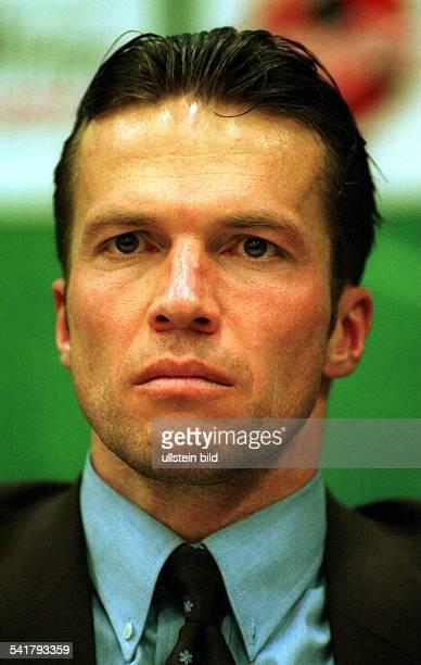 Matthaeus Lothar *Fussballspieler DSpieler der Nationalelf von 19802000Weltmeister 1990 Portrait