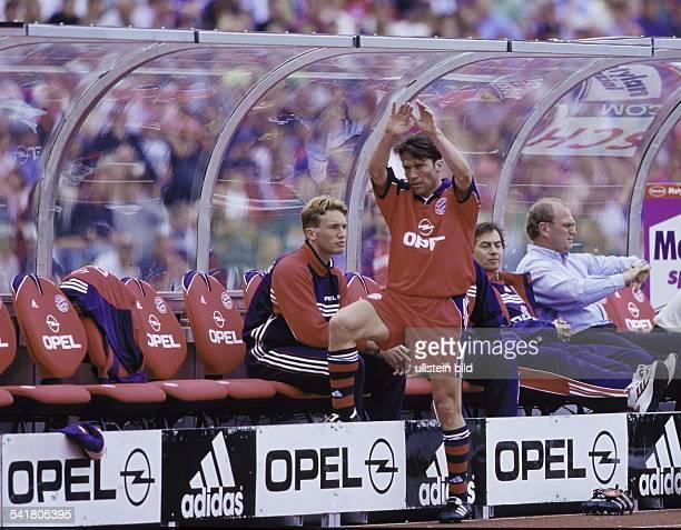 Matthaeus Lothar *Fussballspieler DSpieler der Nationalelf von 19802000Weltmeister 1990 1 Bundesliga 1 Spieltag BayernMuenchen Hamburger SV 22 LM...