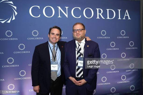 Matthew A. Swift, Co-Founder, Chairman & CEO of Concordia and Nicholas M. Logothetis, Executive Board Member, Libra Group; Co-Founder & Chairman of...