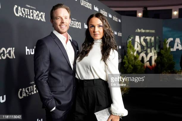 Matthew Alan and Camilla Luddington attend Hulu Castle Rock Season 2 Premiere at AMC Sunset 5 on October 14 2019 in West Hollywood California
