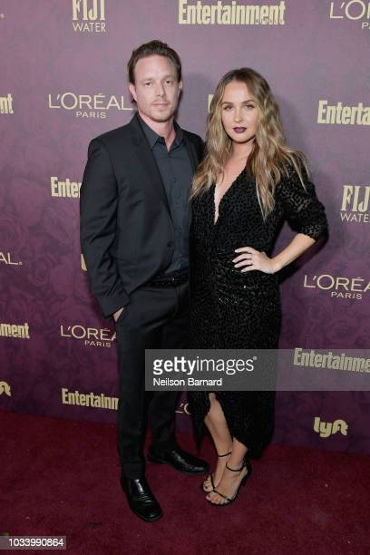 Matthew Alan and Camilla Luddington attend the 2018 Pre-Emmy Party hosted by Entertainment Weekly and L'Oreal Paris at Sunset Tower on September 15,...