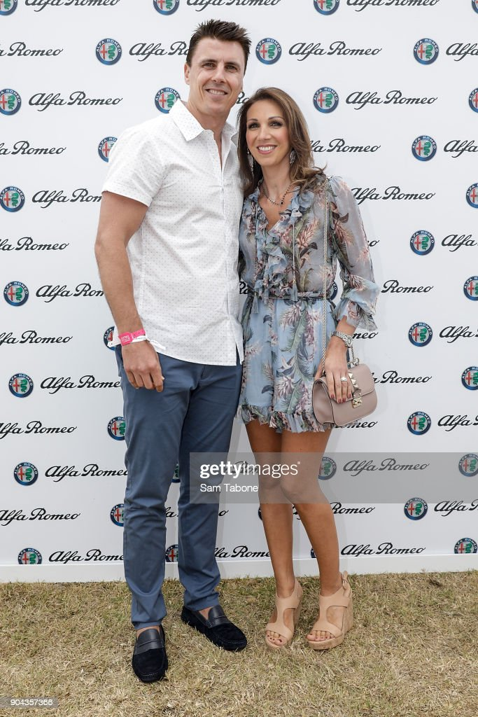 Celebrities Attend Portsea Polo