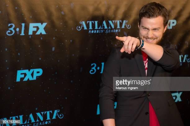Matthew Barnes attends the 'Atlanta Robbin' Season' Atlanta premiere at Starlight Six Drive on February 26 2018 in Atlanta Georgia