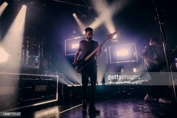 Matthew Barnes of You Me At Six performs at O2 Academy Bristol on September 06, 2021 in London, England.