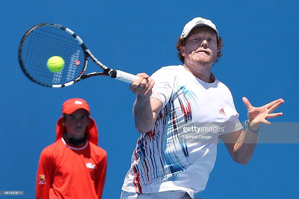 2014 Australian Open Qualifying : News Photo