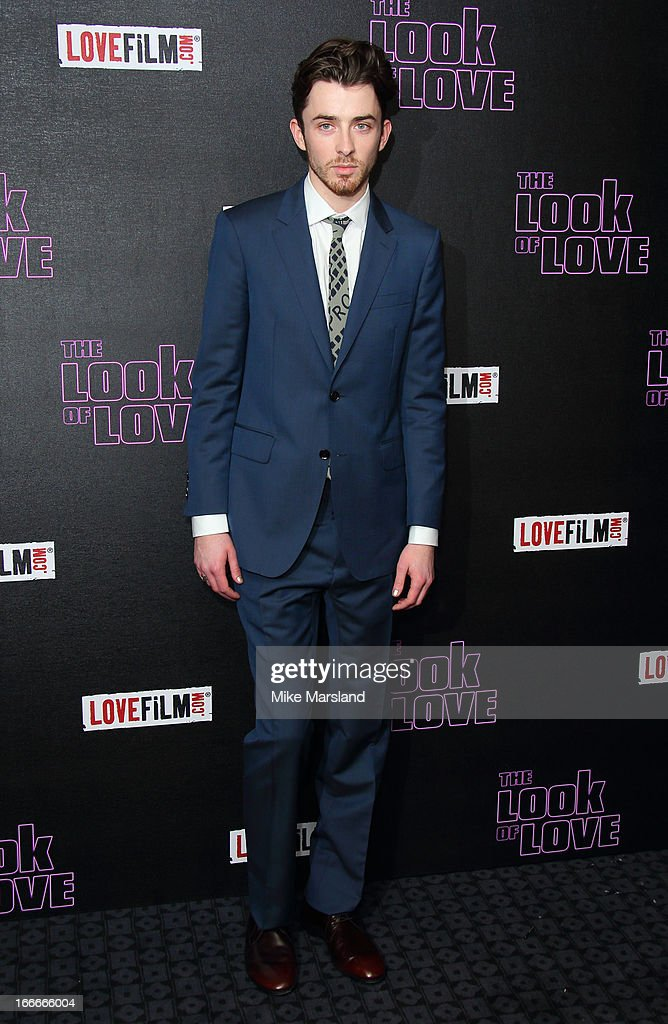 Matthew Beard attends 'The Look Of Love' UK premiere at Curzon Soho on April 15, 2013 in London, England.