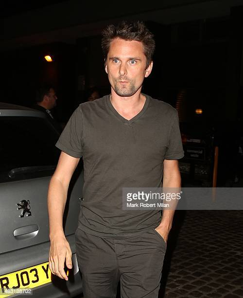 Matthew Bellamy at the Chiltern Firehouse on August 6 2015 in London England