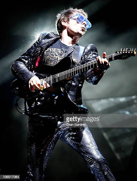 Matthew Bellamy of Muse at the 2010 Voodoo Experience on October 29 2010 in New Orleans Louisiana