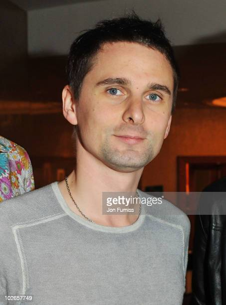 Matthew Bellamy of Muse attends the 35th Nordoff Robbins 02 Silver Clef Awards at London Hilton on July 2 2010 in London England