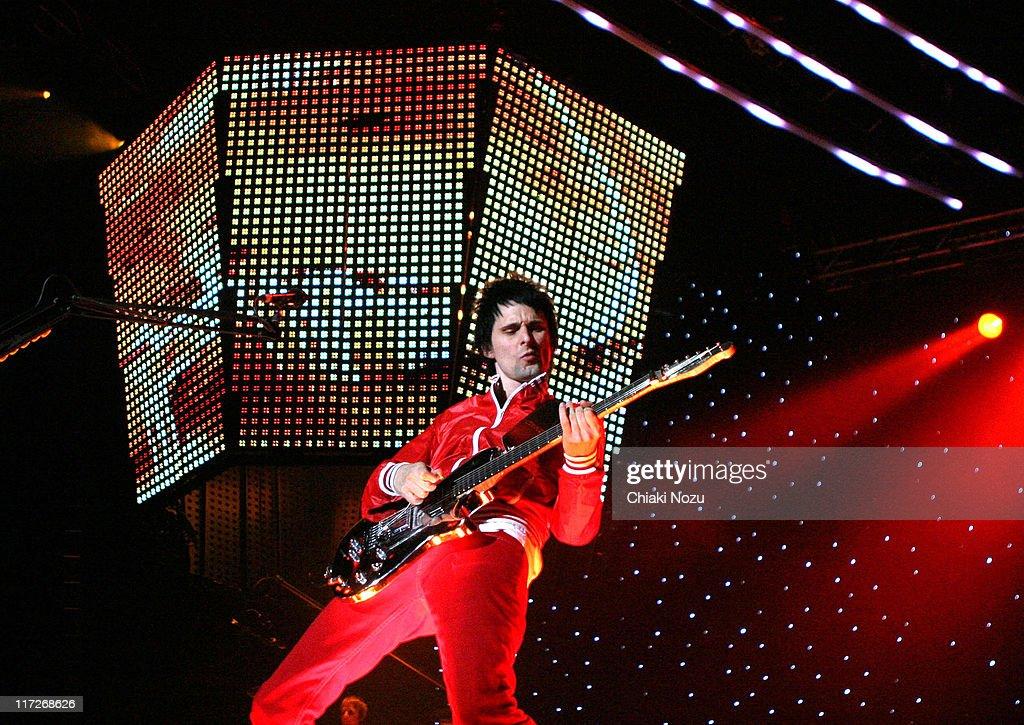 Muse in Concert - Novenber 23, 2006 : ニュース写真