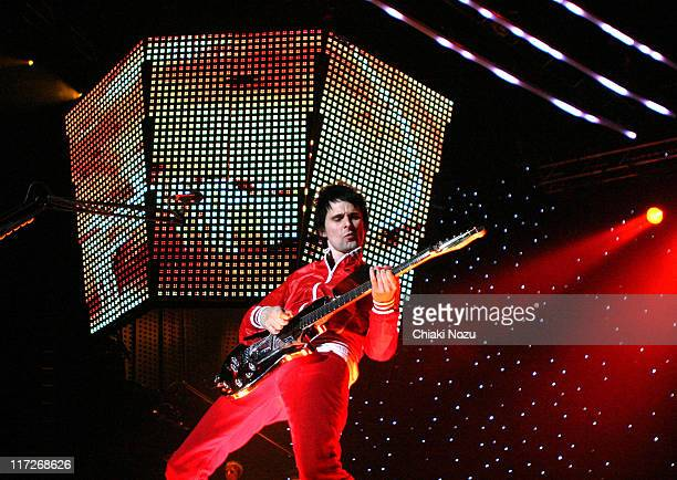Matthew Bellamy of Muse during Muse in Concert - Novenber 23, 2006 at Wembley Arena in London, Great Britain.