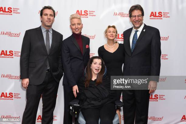 Matthew Belloni Chris Gardner Nanci Ryder Renee Zellweger and Fred Fisher attend ALS Golden West Chapter Hosts Champions For Care And A Cure at The...
