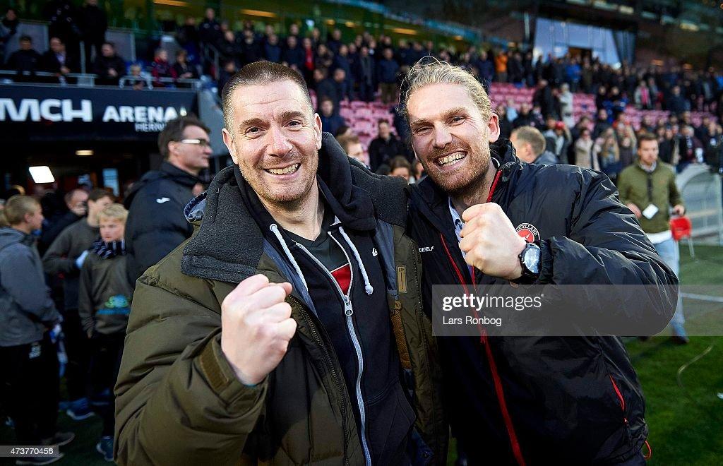 FC Midtjylland vs FC Copenhagen - Danish Alka Superliga : News Photo