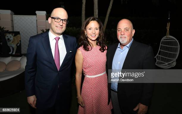 Matthew Bershaker Arriana Boardman and Billy Joel attend ASPCA Palm Beach Cocktails and Conversation hosted by Arriana and Dixon Boardman on February...