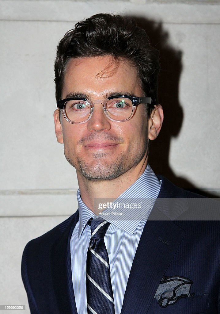 Matthew Bomer attends the Broadway opening night of 'Cat On A Hot Tin Roof' at The Richard Rodgers Theatre on January 17, 2013 in New York City.