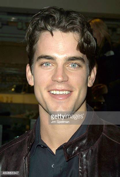 Matthew Bomer during Special screening party of 40 Days and 40 Nights hosted by Monet Mazur at DKNY Flagship Store in New York City New York United...