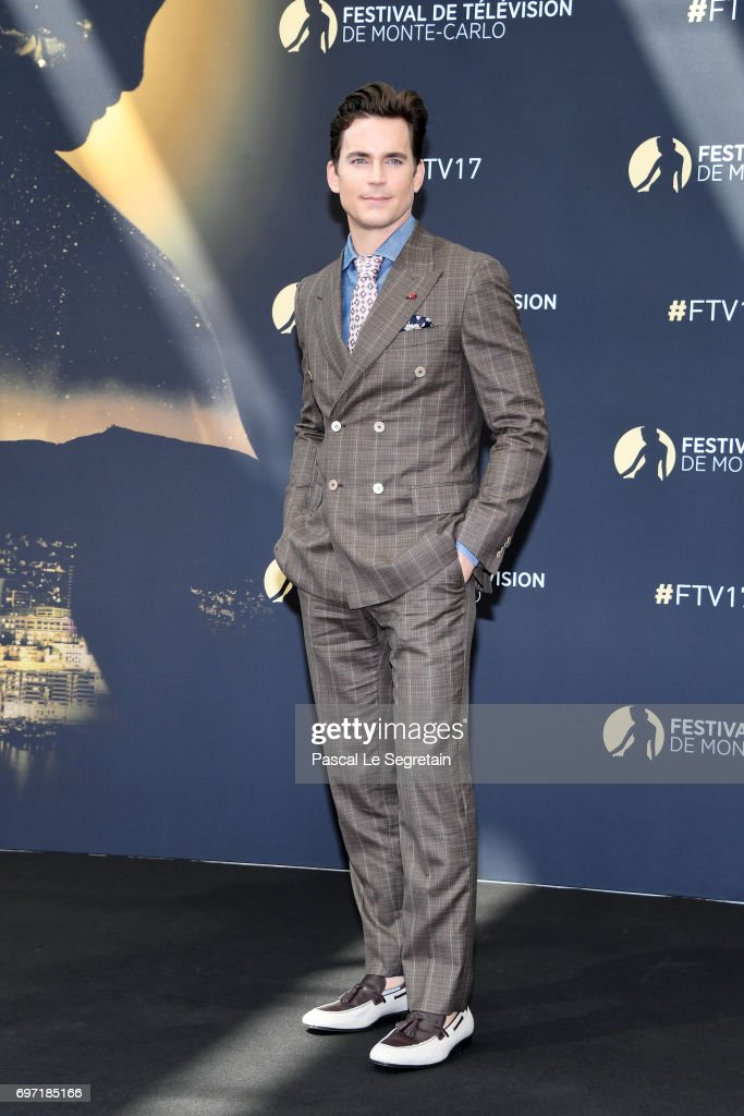 Matthew Bomer from 'The Last Tycoon' attends a photocall during the 57th Monte Carlo TV Festival : Day 3 on June 18, 2017 in Monte-Carlo, Monaco.