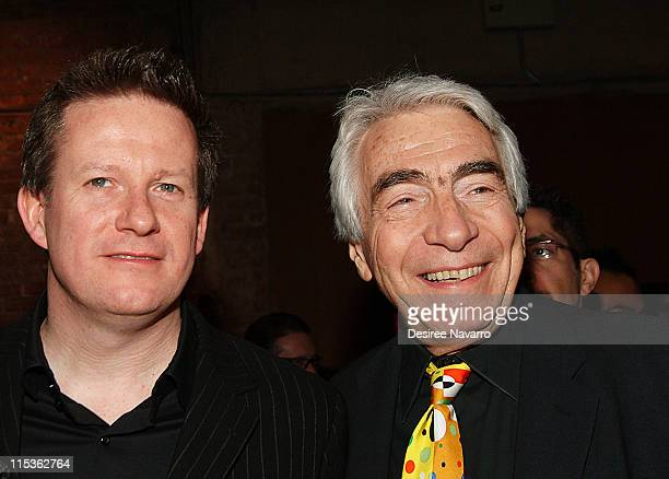 Matthew Bourne and Gordon Davidson during BAM 2005 Spring Gala Celebrating Matthew Bourne's Play 'Without Words' at BAM Harvey Theater in Brooklyn...