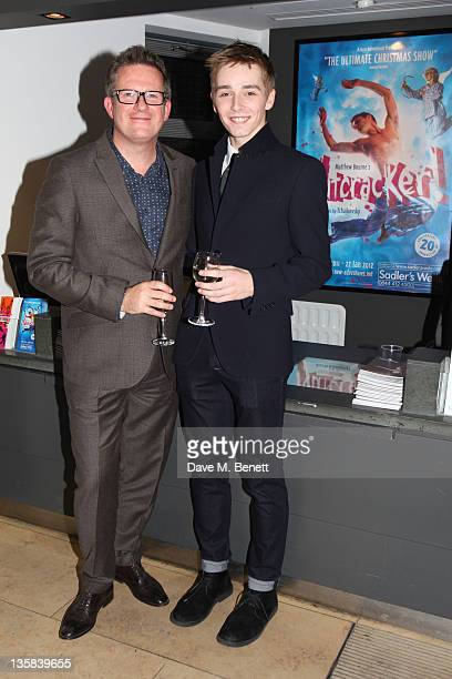 Matthew Bourne and Liam Mower attend the press night for Matthew Bourne's The Nutcracker at Sadler's Wells Theatre on December 142011 in LondonEngland