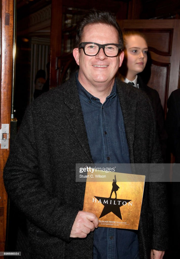 Matthew Bourne attends the opening night of 'Hamilton' at Victoria Palace Theatre on December 21, 2017 in London, England.