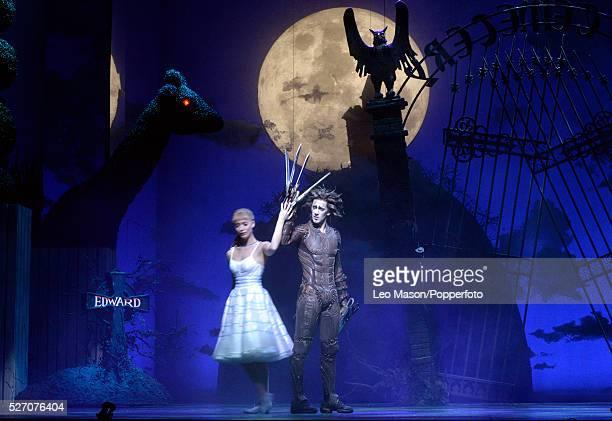 Matthew Bourne Company performing Edward Scissorhands at Sadlers Wells Theatre London UK Farewell Duet: Edward Scissorheads Dominc North & Kim Boggs...