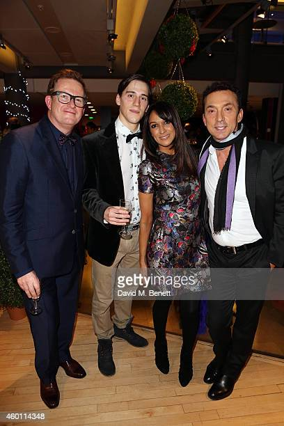 Matthew Bourne Dominic North Jackie StClaire and Bruno Tognioli attend a Gala Performance of Edward Scissorhands at Sadler's Wells Theatre on...