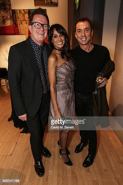 Matthew Bourne Jackie St Clair and Bruno Tonioli attend the Gala performance of Matthew Bourne's Sleeping Beauty at Sadler's Wells theatre December...