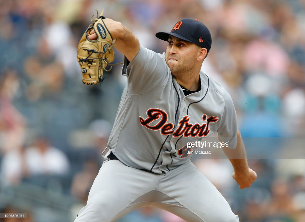 Detroit Tigers v New York Yankees : News Photo