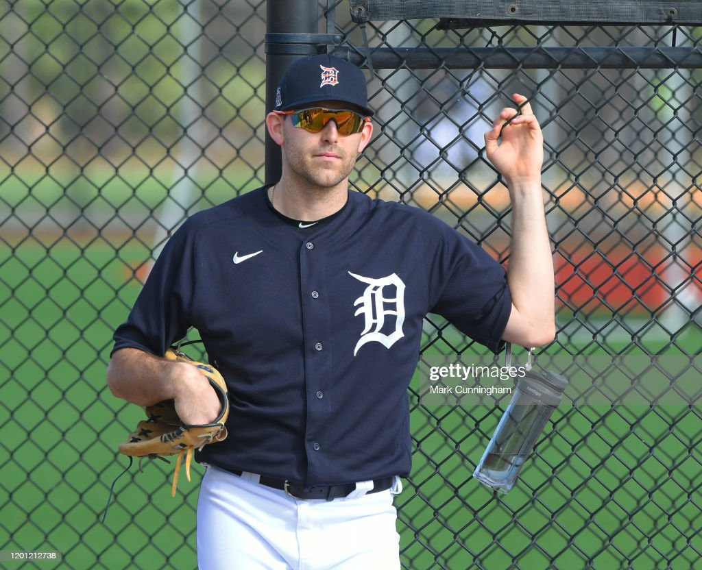 Detroit Tigers Spring Workout : News Photo