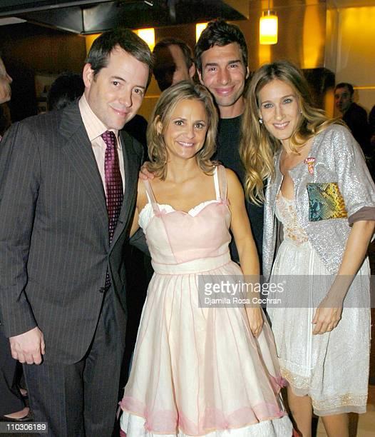 Matthew Broderick Amy Sedaris Paul Dinello and Sarah Jessica Parker