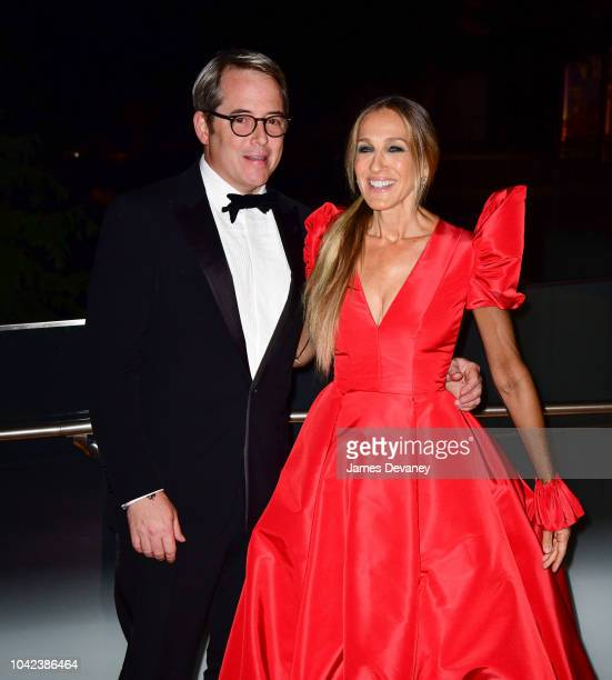 Matthew Broderick and Sarah Jessica Parker arrive to the 2018 New York City Ballet Fall Fashion Gala at David H. Koch Theater at Lincoln Center on...