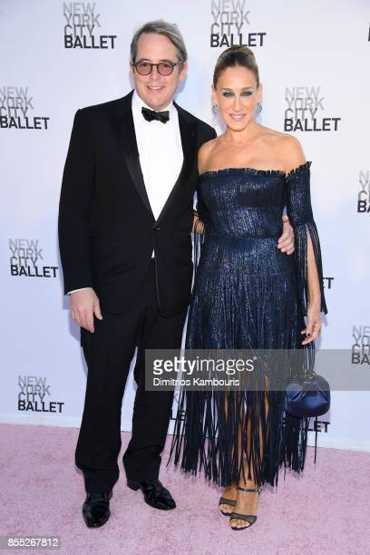 Matthew Broderick and Sarah Jessica Parker attend the New York City Ballet's 2017 Fall Fashion Gala at David H Koch Theater at Lincoln Center on...