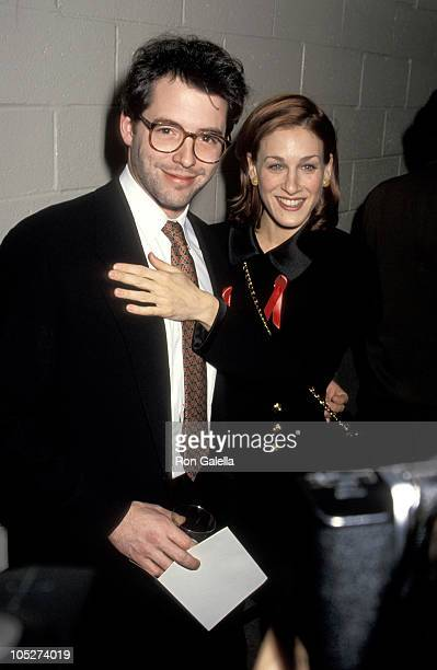 Matthew Broderick and Sarah Jessica Parker during 1993 National Board of Review's D.W. Griffith Awards at Equitable Center in New York City, New...