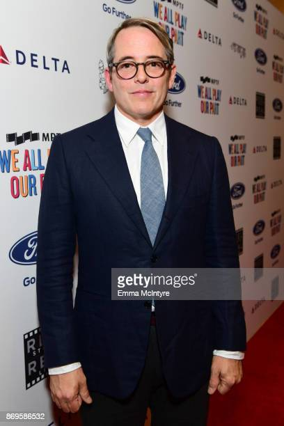 Matthew Broderick at the 6th Annual Reel Stories, Real Lives event benefiting MPTF at Milk Studios on November 2, 2017 in Hollywood, California.
