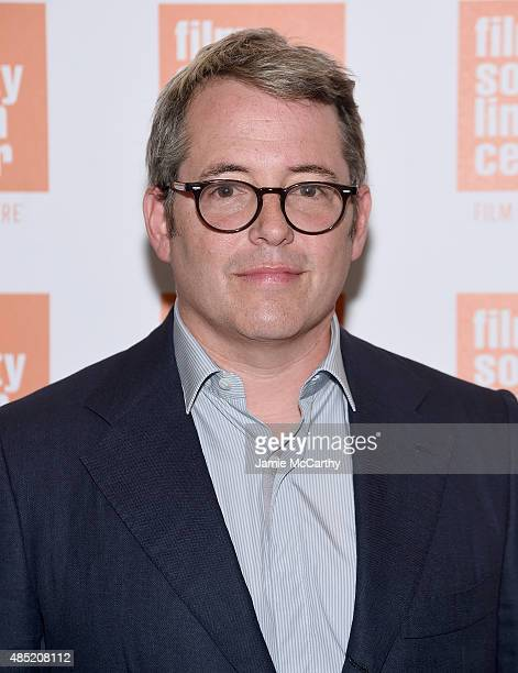 Matthew Broderick attends the 2015 Film Society Of Lincoln Center Summer Talks With 'Dirty Weekend' at Elinor Bunin Munroe Film Center on August 25...