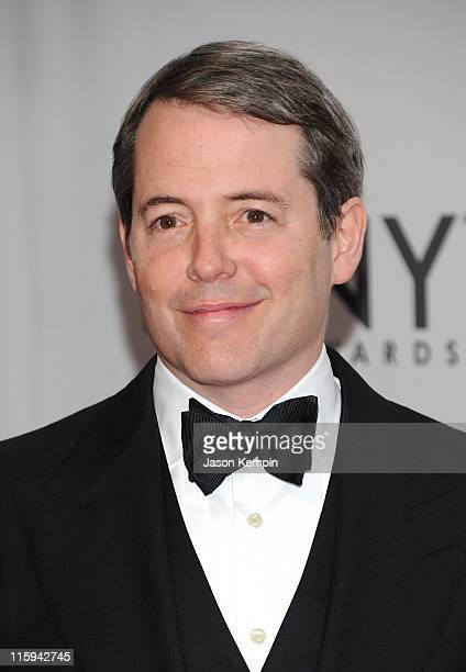 Matthew Broderick attends the 65th Annual Tony Awards at the Beacon Theatre on June 12 2011 in New York City