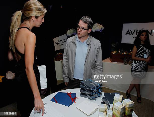 Matthew Broderick attends the Audemars Piguet Green Room and Gift Suite during the 65th Annual Tony Awards at the Beacon Theatre on June 12 2011 in...