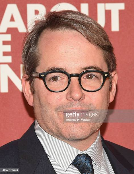 Matthew Broderick attends the Roundabout Theatre Company's 2015 Spring Gala at the Grand Ballroom at The Waldorf=Astoria on March 2 2015 in New York...