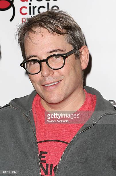 Matthew Broderick attends the Seth Rudetsky Book Launch Party for 'Seth's Broadway Diary' at Don't Tell Mama Cabaret on October 22 2014 in New York...