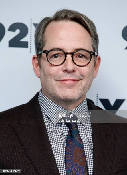 """Matthew Broderick attends """"To Dust"""" screening and conversation at 92nd Street Y on January 20, 2019 in New York City."""