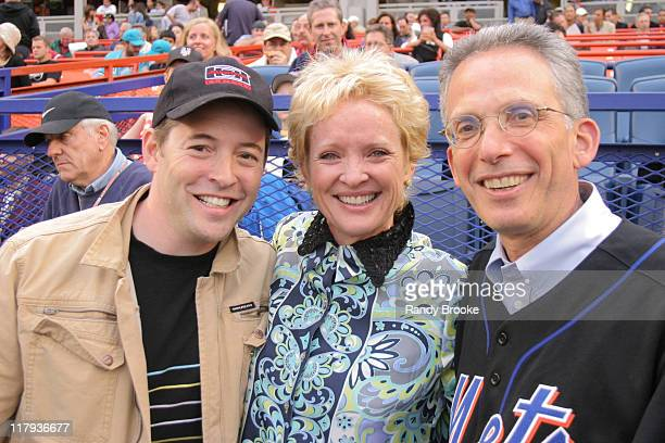 Matthew Broderick Christine Ebersole and Larry Tarica COO Frye Boots