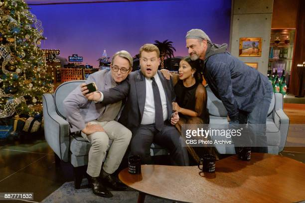 Matthew Broderick Gina Rodriguez and Chris Meloni chat with James Corden during 'The Late Late Show with James Corden' Tuesday December 5 2017 On The...