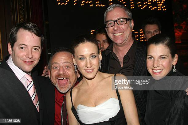 Matthew Broderick Marc Shaiman Sarah Jessica Parker Scott Wittman and Jessica Seinfeld *Exclusive Coverage*