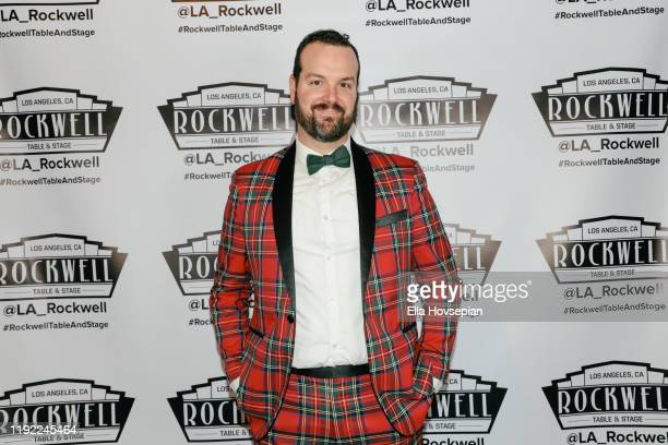 Matthew Bryan Feld at Rockwell Table and Stage on December 05 2019 in Los Angeles California