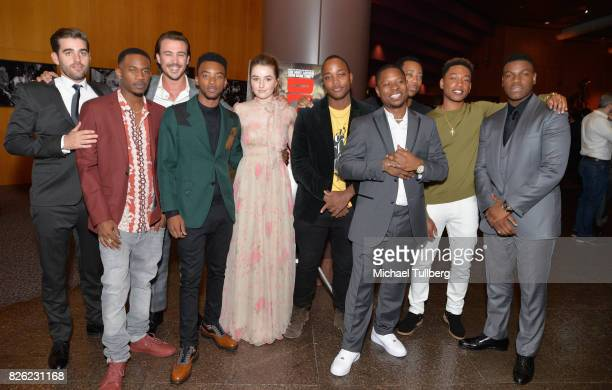 Matthew Budman Malcolm David Kelley Ben O'Toole Algee Smith Kaitlyn Dever Leon Thomas Jason Mitchell Tyler James Williams Jacob Latimmore and John...