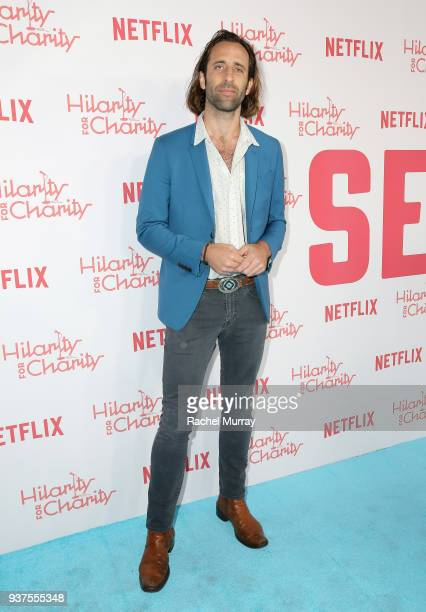 Matthew Burr attends Seth Rogen's Hilarity For Charity at Hollywood Palladium on March 24, 2018 in Los Angeles, California.