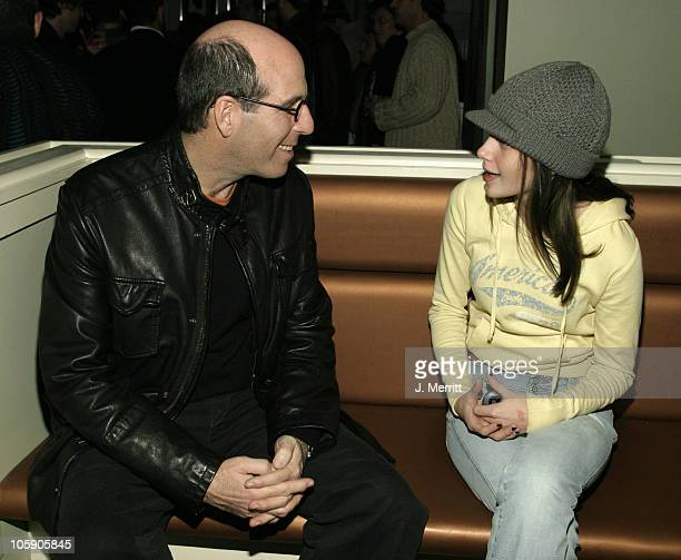 Matthew C Blank and Kristen Stewart during 2004 Sundance Film Festival Showtime Party at The Riverhorse Cafe in Park City Utah United States