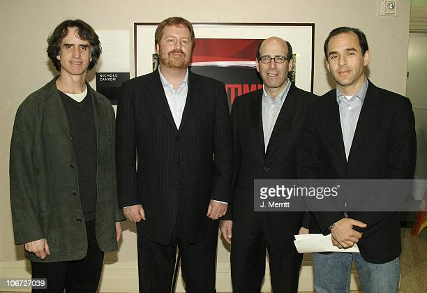 Matthew C Blank And The Cast Of American Candidate RJ Cutler Jay Roach and Tom Lassally
