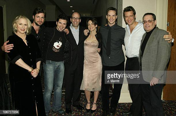 Matthew C Blank And The Cast Of 'Queer As Folk' Sharon Gless Gale Harold Hal Sparks Michelle Clunie Peter Paige Robert Gant And Dan Lipman